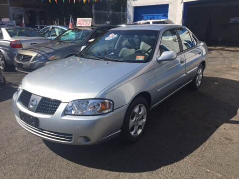 2004 Nissan Sentra for sale at DEALS ON WHEELS in Newark NJ