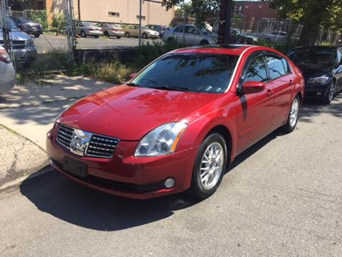 2005 Nissan Maxima for sale at DEALS ON WHEELS in Newark NJ