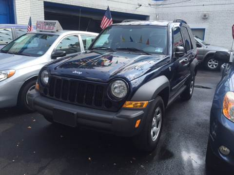 2007 Jeep Liberty for sale at DEALS ON WHEELS in Newark NJ