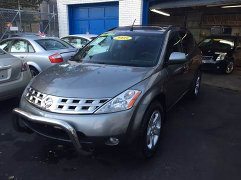 2005 Nissan Murano for sale at DEALS ON WHEELS in Newark NJ