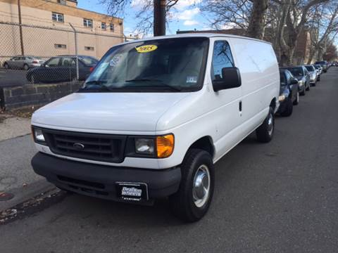 2005 Ford E-Series Cargo for sale at DEALS ON WHEELS in Newark NJ