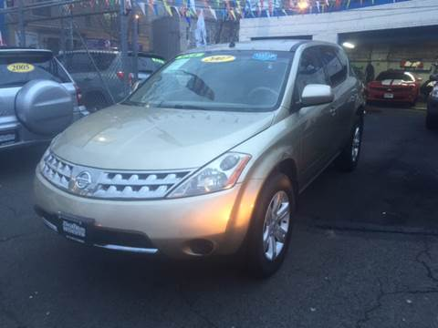 2007 Nissan Murano for sale at DEALS ON WHEELS in Newark NJ