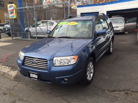 2007 Subaru Forester for sale at DEALS ON WHEELS in Newark NJ