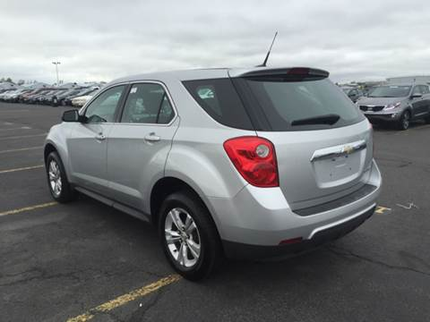 2011 Chevrolet Equinox for sale at DEALS ON WHEELS in Newark NJ