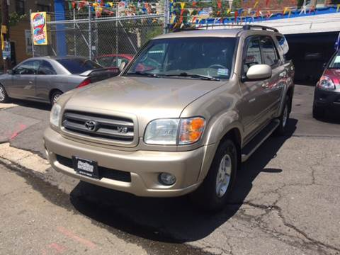 2003 Toyota Sequoia for sale at DEALS ON WHEELS in Newark NJ