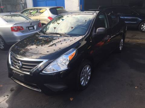 2015 Nissan Versa for sale at DEALS ON WHEELS in Newark NJ