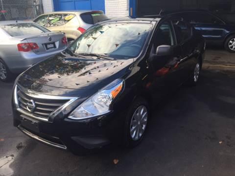 2015 Nissan Versa for sale at DEALS ON WHEELS in Newark NJ