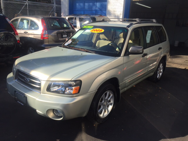 2005 Subaru Forester for sale at DEALS ON WHEELS in Newark NJ