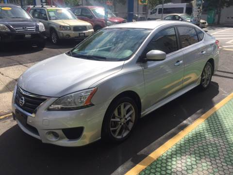 2013 Nissan Sentra for sale at DEALS ON WHEELS in Newark NJ