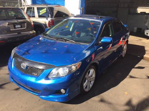 2009 Toyota Corolla for sale at DEALS ON WHEELS in Newark NJ