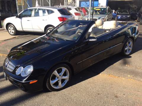 2005 Mercedes-Benz CLK for sale at DEALS ON WHEELS in Newark NJ