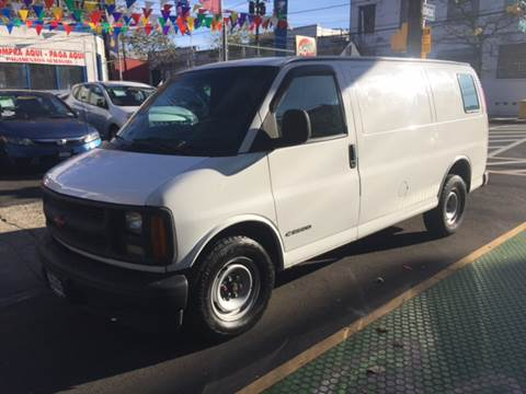 2002 Chevrolet Express Cargo for sale at DEALS ON WHEELS in Newark NJ