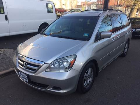 2005 Honda Odyssey for sale at DEALS ON WHEELS in Newark NJ