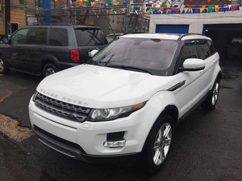 2013 Land Rover Range Rover Evoque for sale at DEALS ON WHEELS in Newark NJ