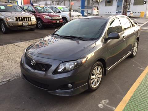 2010 Toyota Corolla for sale at DEALS ON WHEELS in Newark NJ