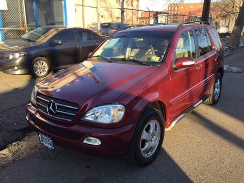 2002 Mercedes-Benz M-Class for sale at DEALS ON WHEELS in Newark NJ