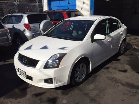 2012 Nissan Sentra for sale at DEALS ON WHEELS in Newark NJ