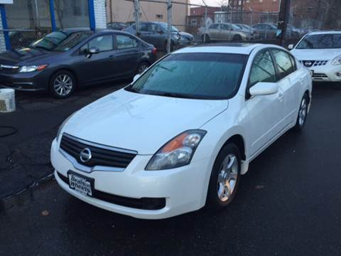 2008 Nissan Altima for sale at DEALS ON WHEELS in Newark NJ