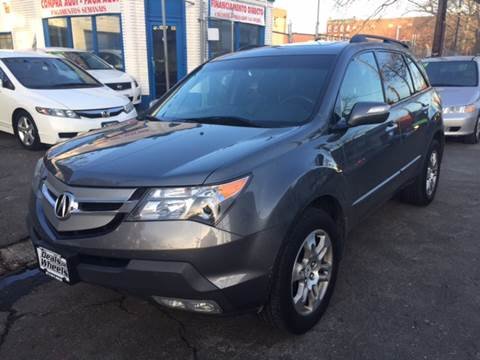 2009 Acura MDX for sale at DEALS ON WHEELS in Newark NJ