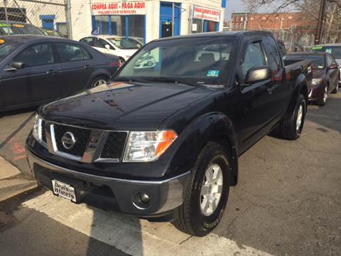 2005 Nissan Frontier for sale at DEALS ON WHEELS in Newark NJ