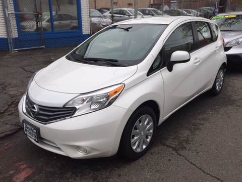 2014 Nissan Versa Note for sale at DEALS ON WHEELS in Newark NJ