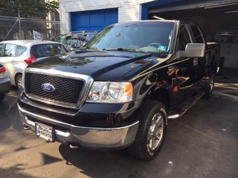 2008 Ford F-150 for sale at DEALS ON WHEELS in Newark NJ