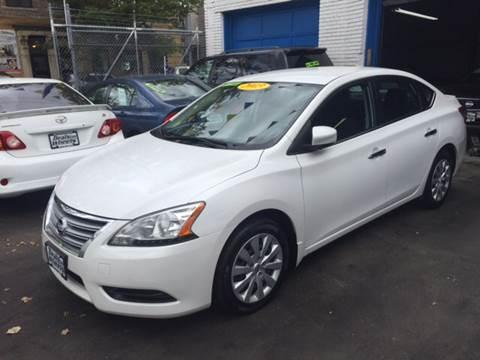 2013 Nissan Sentra for sale at DEALS ON WHEELS in Newark NJ
