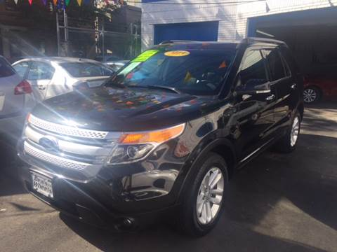 2013 Ford Explorer for sale at DEALS ON WHEELS in Newark NJ