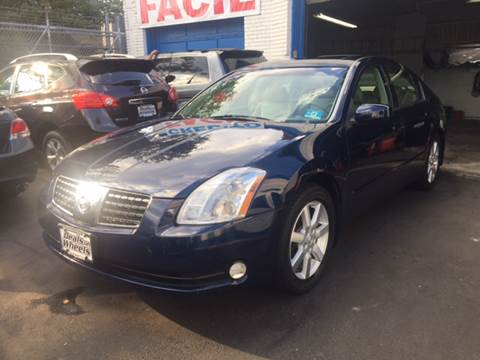 2006 Nissan Maxima for sale at DEALS ON WHEELS in Newark NJ