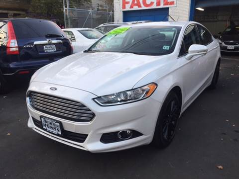 2016 Ford Fusion for sale at DEALS ON WHEELS in Newark NJ