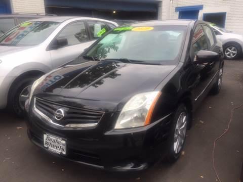 2010 Nissan Sentra for sale at DEALS ON WHEELS in Newark NJ