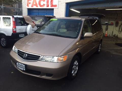 2004 Honda Odyssey for sale at DEALS ON WHEELS in Newark NJ