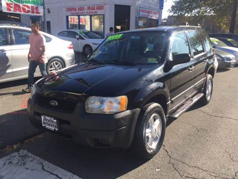 2004 Ford Escape for sale at DEALS ON WHEELS in Newark NJ