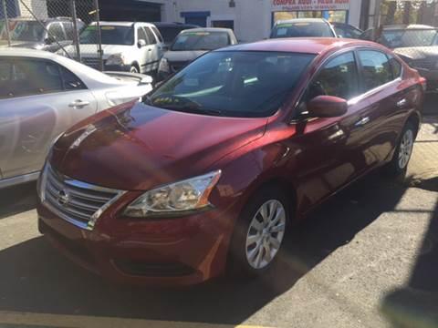 2015 Nissan Sentra for sale at DEALS ON WHEELS in Newark NJ