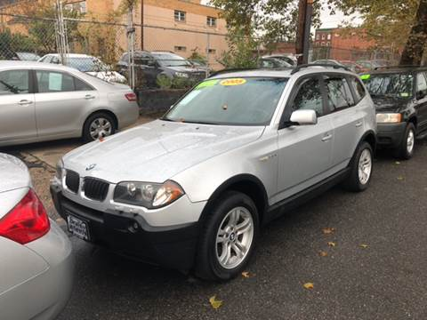 2005 BMW X3 for sale at DEALS ON WHEELS in Newark NJ
