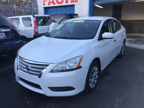 2014 Nissan Sentra for sale at DEALS ON WHEELS in Newark NJ