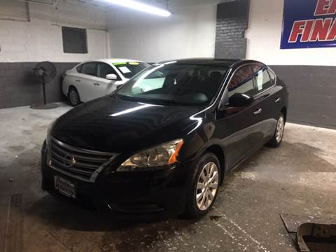 2014 Nissan Sentra for sale at DEALS ON WHEELS in Newark NJ