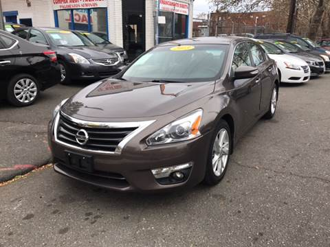 2013 Nissan Altima for sale at DEALS ON WHEELS in Newark NJ