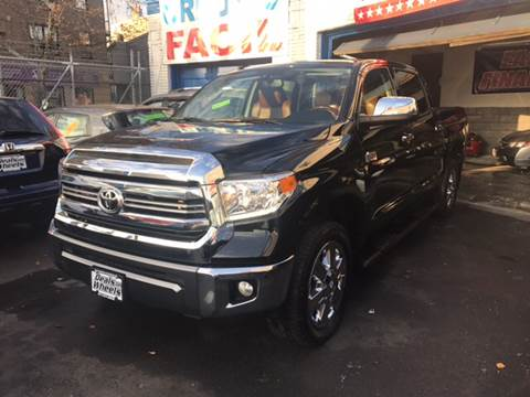 2017 Toyota Tundra for sale at DEALS ON WHEELS in Newark NJ
