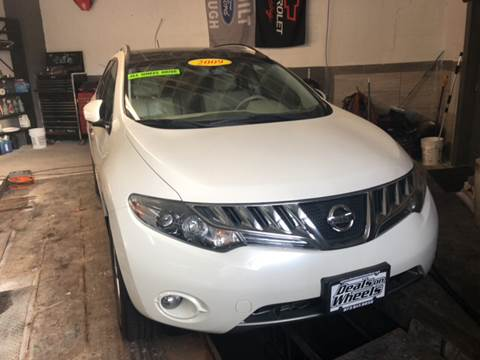 2009 Nissan Murano for sale at DEALS ON WHEELS in Newark NJ