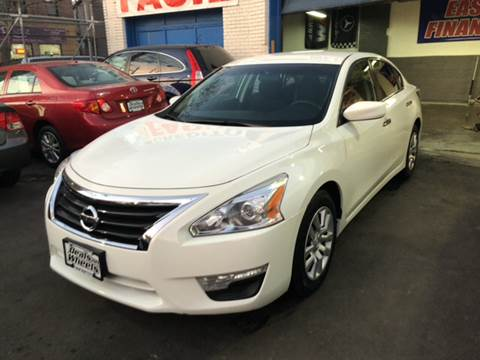 2015 Nissan Altima for sale at DEALS ON WHEELS in Newark NJ
