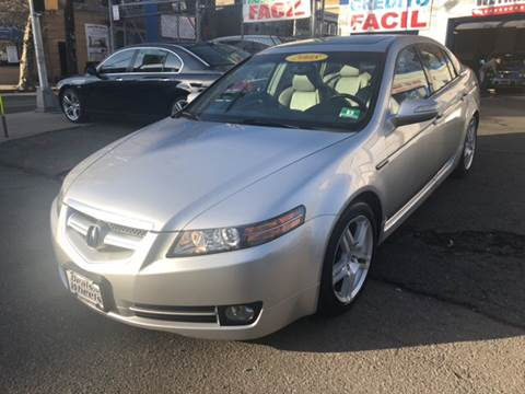2008 Acura TL for sale at DEALS ON WHEELS in Newark NJ