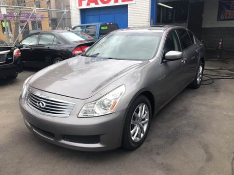 2009 Infiniti G37 Sedan for sale at DEALS ON WHEELS in Newark NJ