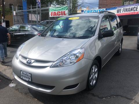 2010 Toyota Sienna for sale at DEALS ON WHEELS in Newark NJ