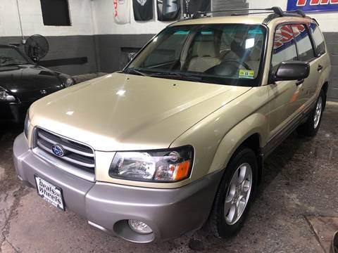 2003 Subaru Forester for sale at DEALS ON WHEELS in Newark NJ