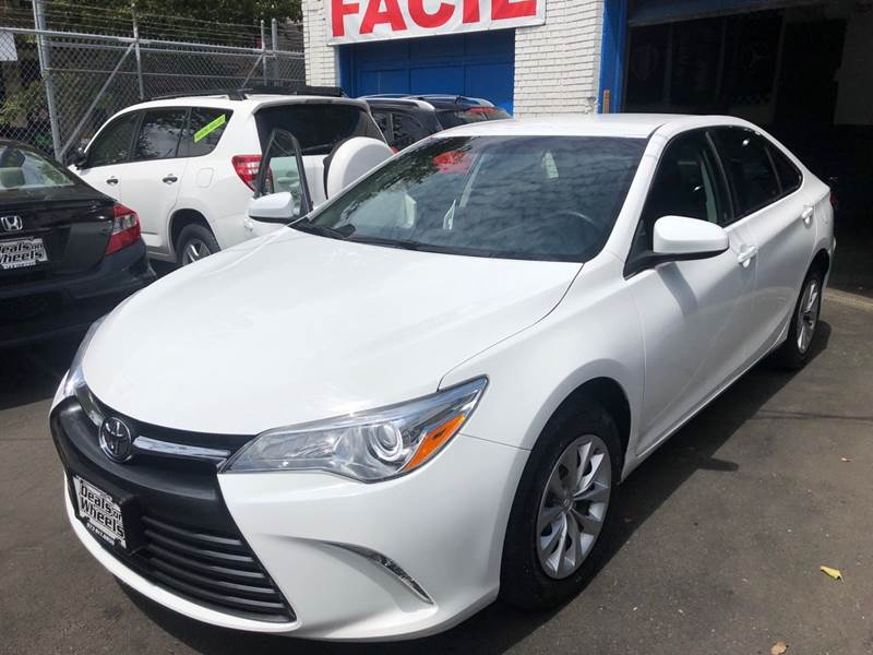 2015 Toyota Camry for sale at DEALS ON WHEELS in Newark NJ