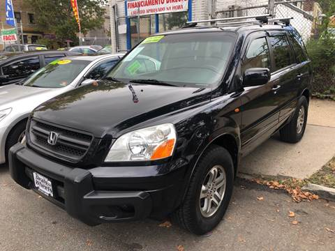 2004 Honda Pilot for sale at DEALS ON WHEELS in Newark NJ