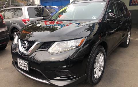 2014 Nissan Rogue for sale at DEALS ON WHEELS in Newark NJ