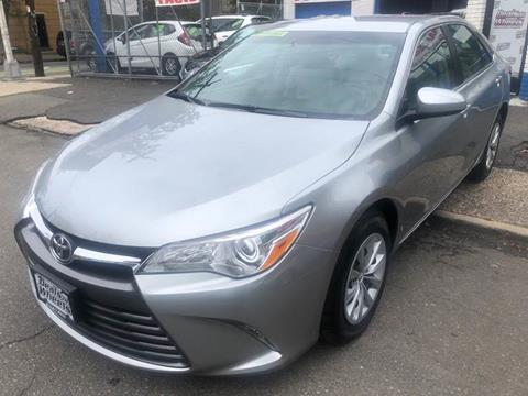 2016 Toyota Camry for sale at DEALS ON WHEELS in Newark NJ