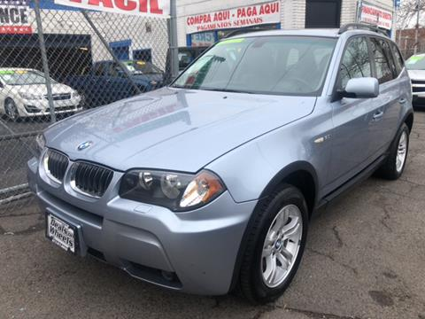 2006 BMW X3 for sale at DEALS ON WHEELS in Newark NJ